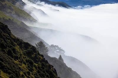 Foggy Hillside Print by Garry Gay