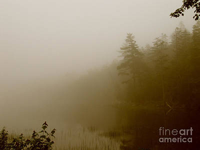 Water Photograph - Foggy Landscape I by A R