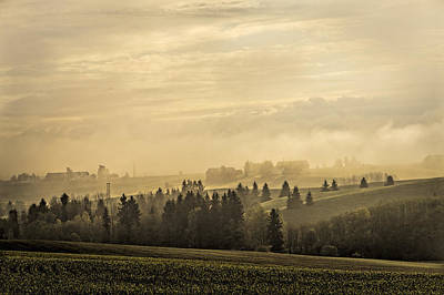 Norway Photograph - Foggy Morning by Erik Brede