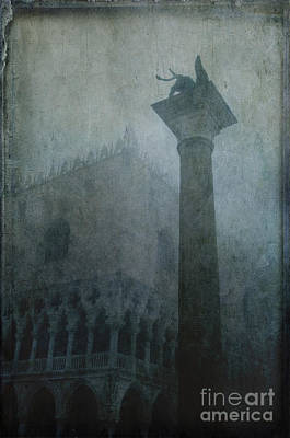 Piazza San Marco Photograph - Foggy Morning by Marion Galt