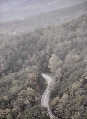 Foggy Morning Road Original by Dan Sproul
