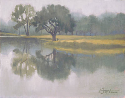 Mist Painting - Foggy Morning by Todd Baxter