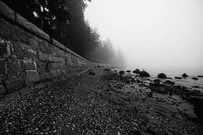 Doppelganger Photograph - Foggy Shores by Alex Land