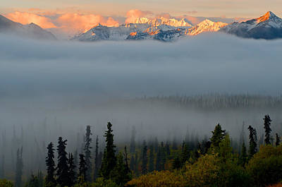 Landscape Photograph - Foggy Vista by Ron Day