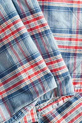 Folded Fabric Print by Tom Gowanlock