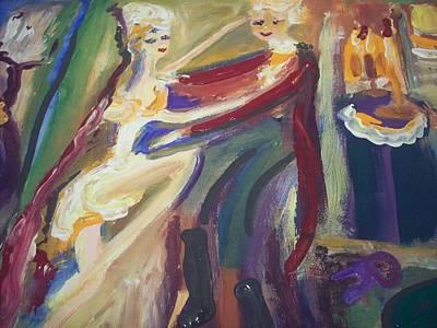 Folie A Deux Original by Judith Desrosiers