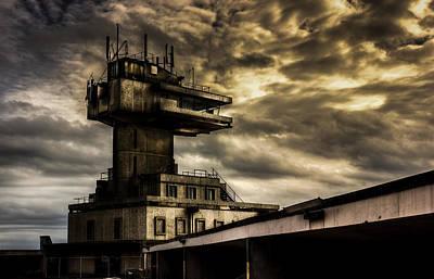 Trawler Photograph - Folkestone Harbour Control by Ian Hufton