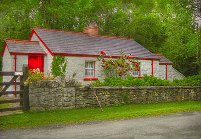 Architecture Photograph - Folktale Cottage by Kandy Hurley