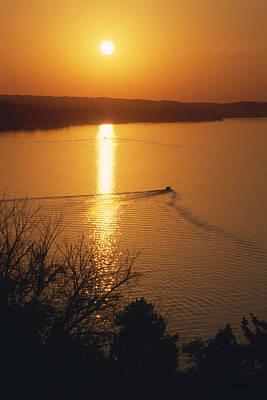 Follow Me Home - Lake Geneva Wisconsin Print by Bruce Thompson