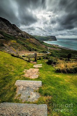 Grass Photograph - Follow The Path by Adrian Evans