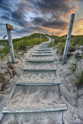 Follow The Path Print by Sebastian Musial