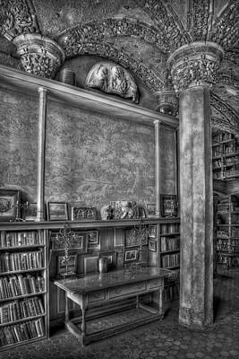 Mansion Photograph - Fonthill Castle Library by Susan Candelario