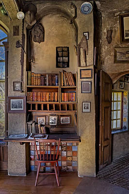 Historical Reenactments Photograph - Fonthill Castle Study by Susan Candelario