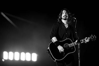 Microphone Photograph - Foo Fighters by Ben James