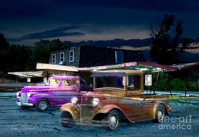 Spooky Digital Art - Food And Suds by Tom Straub