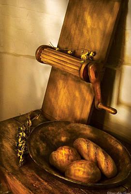 Food -  Bread  Print by Mike Savad