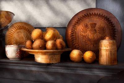 Food - Lemons - Winter Spice  Print by Mike Savad