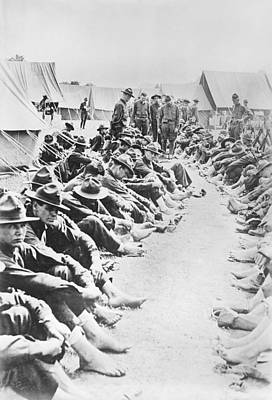 Trenches Photograph - Foot Inspection by Library Of Congress