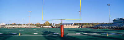 College Days Photograph - Football Stadium, Jersey City, New by Panoramic Images