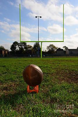 Turf Photograph - Football - The Kickoff by Paul Ward