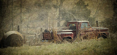 Old Trucks Photograph - For Farm Use Only by Kathy Jennings