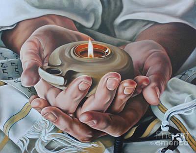 Painting - For Jerusalem by Ilse Kleyn