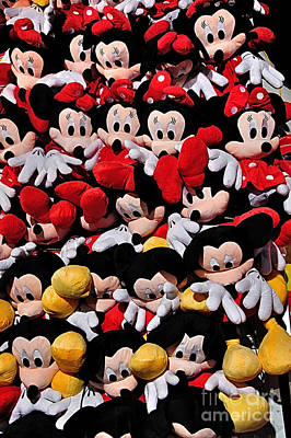 Comic Strip Photograph - For The Mickey Mouse Lovers by Kaye Menner