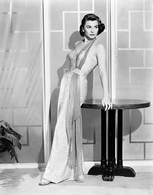1950s Fashion Photograph - Forbidden, Joanne Dru, 1953 by Everett