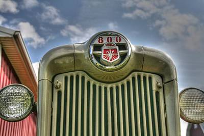 Country Scenes Photograph - Ford 800 by Heather Allen