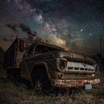 Milky Digital Art - Ford by Aaron J Groen