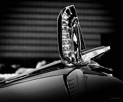 Defining Photograph - Ford - Cresline Sunliner Hood Ornament by Steven Milner