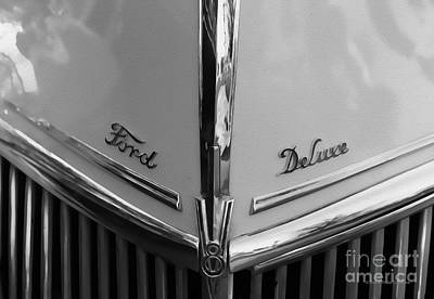 Muffler Photograph - Ford Deluxe by Deborah Benoit