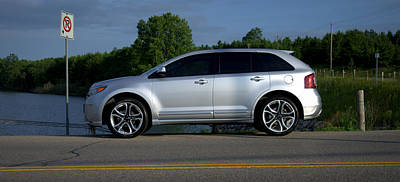 Ford Edge Sport Print by Rob Andrus
