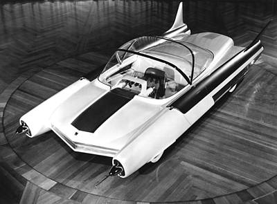 Ford Fx-atmos Concept Car Print by Underwood Archives