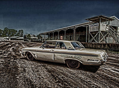 Ford Galaxie 500 4 Print by Thomas Young