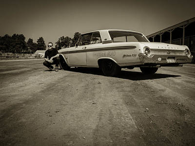 Ford Galaxie 500 5 Print by Thomas Young