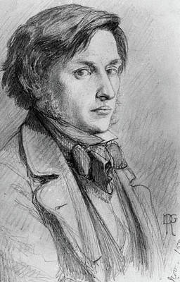 Lapel Drawing - Ford Madox Brown (1821-1893) by Granger
