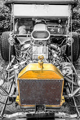 1923 Ford Model T Photograph - Ford Model T by Chris Smith