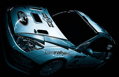 Ford Rally Car Print by Martin Newman