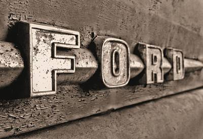 Old Country Roads Photograph - Ford Tough by JC Findley