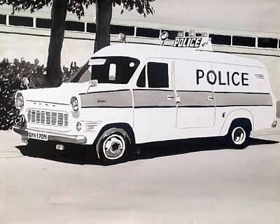 Ford Transit Cop Van Original by Sid Fox