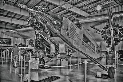 Ford Tri-motor Print by Todd and candice Dailey