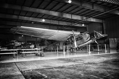 Ford Trimotor Print by Todd and candice Dailey