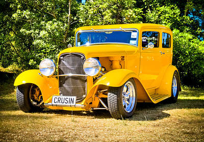 Phil Motography Clark Photograph - Ford Tudor Hot Rod by motography aka Phil Clark