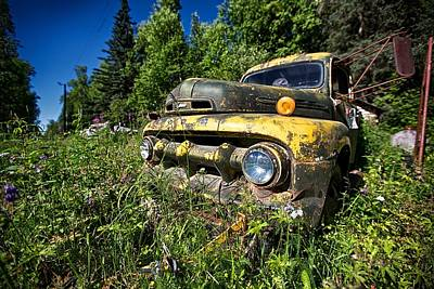 Pick-up Photograph - Fords View by Ed Boudreau