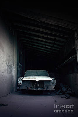 Horror Cars Photograph - Foresaken by Trish Mistric