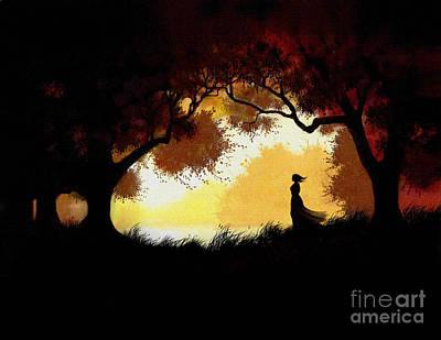 Forest Glen Print by Robert Foster