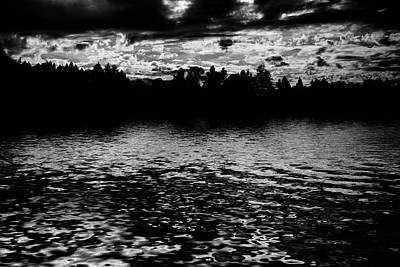 Lightscapes Photograph - Forest Lake by Hakon Soreide