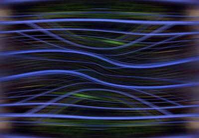 Forest Light Enhanced Print by Florin Birjoveanu