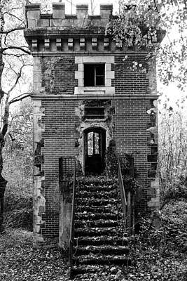 Abandoned House Photograph - Forest Tower by Georgia Fowler